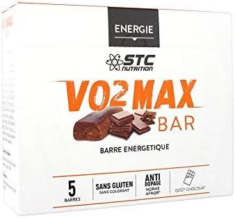 STC Nutrition Herren Inlineskate VO2Max Bar 5Türer energétiques–Geschmack: Schokolade