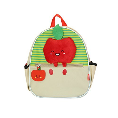 Pinky & Flo Safety Reflective Toddler Backback Apple from Pinky & Flo