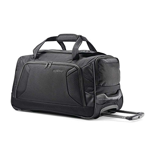 American Tourister Zoom 20 Wheeled Duffel, Black (American Tourister Bag)