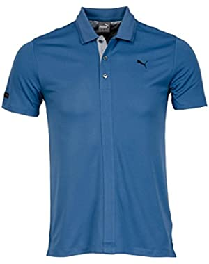 Golf Men's Lux Blend SS Polo Shirt - US S - Federal Blue
