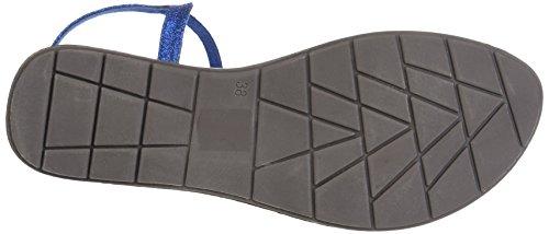 Les P'tites Bombes Women's Nelly Ankle Strap Sandals Blue (Bleu) 38QSXqaNbY
