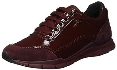 Geox D Sukie B, Zapatillas para Mujer, (Dk Burgundy C7357), 35 EU