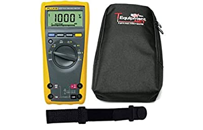 Fluke 177 PRO TE TRMS Multimeter with Backlight Comes with Soft Case and Magnetic Hanging Strap