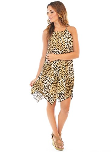 cheetah print dress - 6