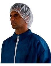 3M Disposable Hair Net 407, Spunbond Polypropylene, Universal, White (Case of 100)