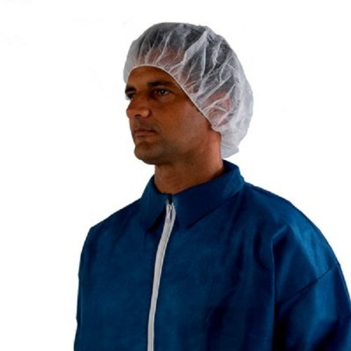 3M Disposable Hair Net 407, Spunbond Polypropylene, Universal, White (Case of 100)