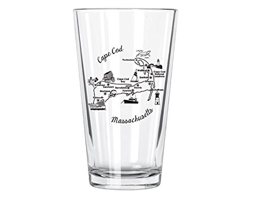 Corkology Cape Cod Pint Glass, -