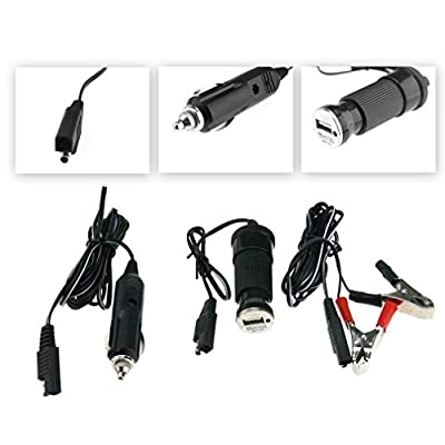 Car Boat Yacht ATV RV Solar Panel Trickle Battery Charger Power Supply 4.5W 12V