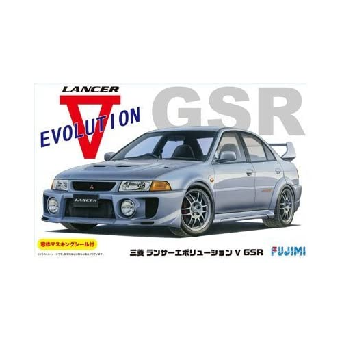 1/24 Inch Series No.100 Mitsubishi Lancer Evolution GSR V
