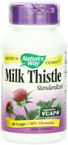 Nature s Way Milk Thistle, 60 Vcaps