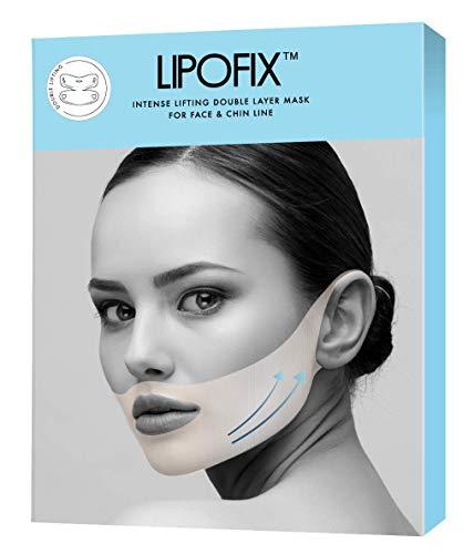 - Double Chin Reducer Intense Lifting Double Layer Mask LipoFix - 5 Masks
