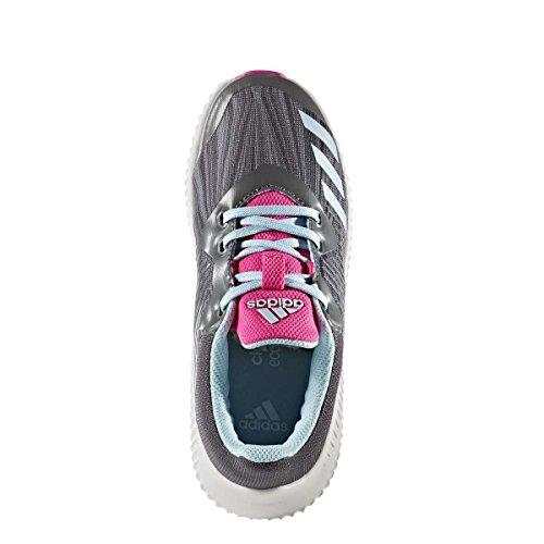 adidas Fortarun K, Zapatillas de Deporte Unisex Niños, Varios Colores (Gricin/Azuhie/Gritre), 38 EU