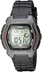 Casio Men's HDD600-1AV 10-Year-Battery Sport Watch