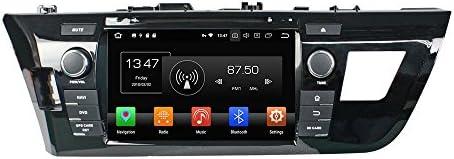 KUNFINE Android 9.0 8核自動車GPSナビゲーション マルチメディアプレーヤー 自動車音響 トヨタ TOYOTA LEVIN 2014 2015 自動車ラジオハンドル制御WiFiブルースティスト