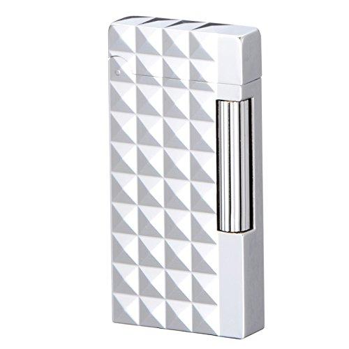 SAROME(サロメ) フリント ガス ライター SD6A-07 シルバー/ダイアモンドヘッド SD6A-07 B017290312