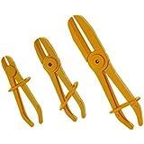3 tlg Set Schlauch Abklemmzangen Kunststoff 160 mm, 185 mm, 250 mm