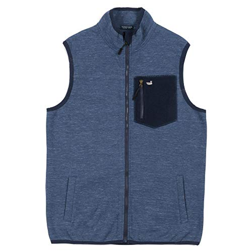 - Southern Marsh Lockhart Stretch Vest-Washed Navy-Small