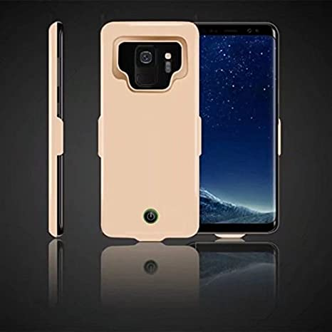 Etbotu Portable High Capacity External Charging Case,7000mAh Extended Battery Protective Case for Samsung Galaxy S9/S9Plus