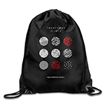 Twenty One Pilots Blurryface Sports Drawstring Backpack Bag