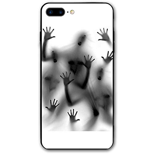 Halloween Window Zombie Scary iPhone 8 Plus Case, iPhone 7 Plus Case, Ultra Thin Lightweight Cover Shell, Anti Scratch Durable, Shock Absorb Bumper Environmental Protection Case Cover]()