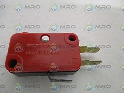 Microswitch V3-101-D8 - Interruptor de luz mini (sin caja): Amazon.es: Industria, empresas y ciencia