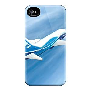 Hard Plastic Iphone 4/4s Case Back Cover,hot 787 Dreamliner Case At Perfect Diy