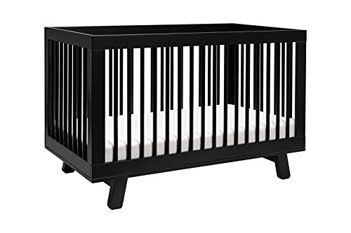 Babyletto Hudson 3-in-1 Convertible Crib with Toddler Bed Conversion ()