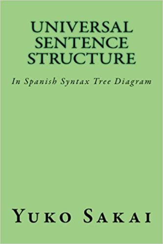 universal sentence structure: in spanish syntax tree diagram (sentence  generation) (volume 2): yuko sakai: 9781545576724: amazon com: books