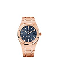 Audemars Piguet Royal Oak Automatic 18kt Pink Gold Mens Watch 15400OROO1220OR03