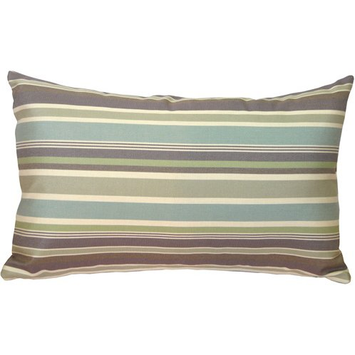 PILLOW DÉCOR Sunbrella Brannon Whisper 12x19 Outdoor Pillow