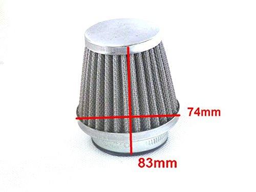 Yunshuo 42/mm Pit Dirt bike KN filtre /à air pour 140/cc 150/cc 160/cc Pit