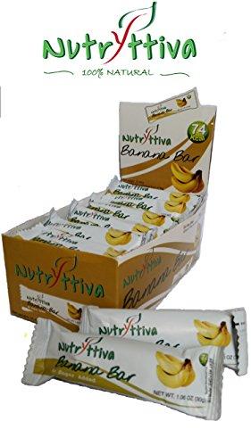 Nutryttiva Banana Bar (Pack of 24)