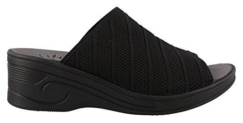 Easy Street 30-8321 Womens Luftig Sandal Sort
