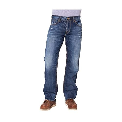 good SILVER JEANS CO MENS GORDIE RINSE WASH JEANS (28X32