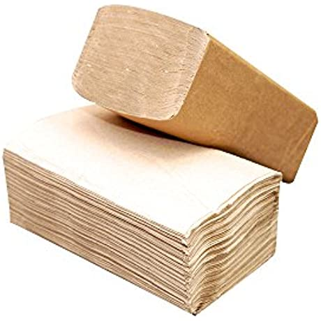 Response 21950 Single Fold 1 Ply Towel Sheet 9 1 4 Length X 10 1 4 Width Tan Case Of 16 Packs 250 Per Pack