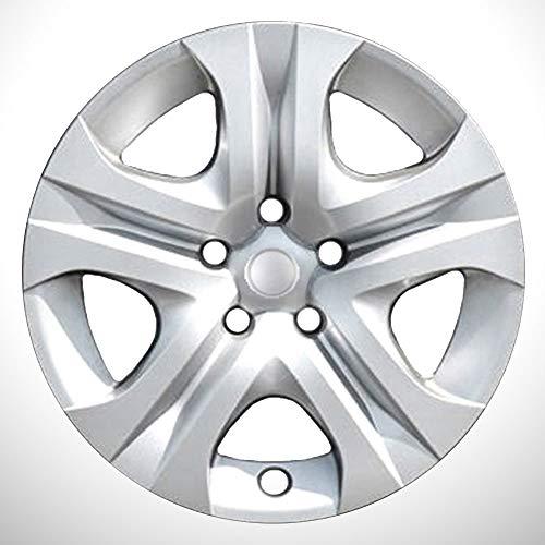 Elite Auto Chrome Silver 5 Spoke 17' Wheel Covers fit for 2013-2018 Toyota RAV4 LE ()