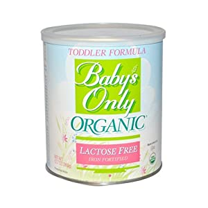 Toddler Form, Organic, Lac Free, 12.7 oz ( Value Bulk Multi-pack)