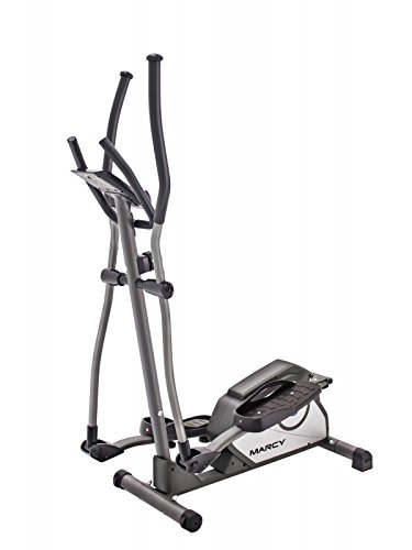 Marcy Magnetic Elliptical Trainer Cardio Workout Machine with Transport Wheels NS-40501E by Marcy (Image #2)