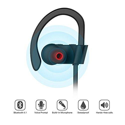 hippox bluetooth headphones moov sweatproof v4 1 ipx4 wireless sports earbud. Black Bedroom Furniture Sets. Home Design Ideas