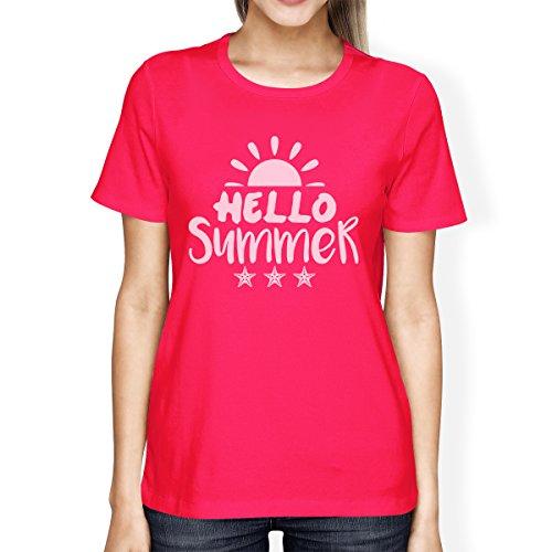Printing Femme Sans Pull Manche 365 Hello Manches Summer Unique Taille Courtes Sun 7qdYwO