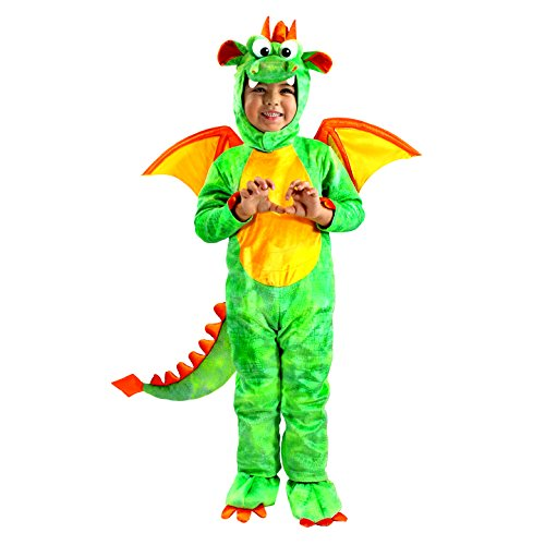 Spooktacular Creations Deluxe Dragon Costume Set with Toys for Role Play, Pretend Play (5 - 7 Years)
