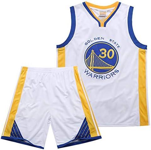 バスケットボールトレーニングジャージウォリアーズカレー刺繍セットメッシュ新しい生地バスケットボールスーツは繰り返し洗浄できます