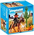Playmobil Oeste - Sheriff con caballo (5251)