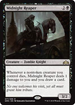 Magic: the Gathering - Midnight Reaper (077/259) - Guilds of Ravnica