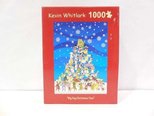''Big Dog Christmas Tree'' 1000 Pc. Puzzle