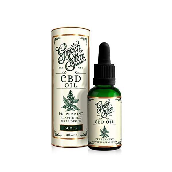 Green Stem Peppermint CBD Oil 500mg
