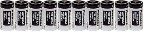 panasonic lithium battery cr 123a - 1
