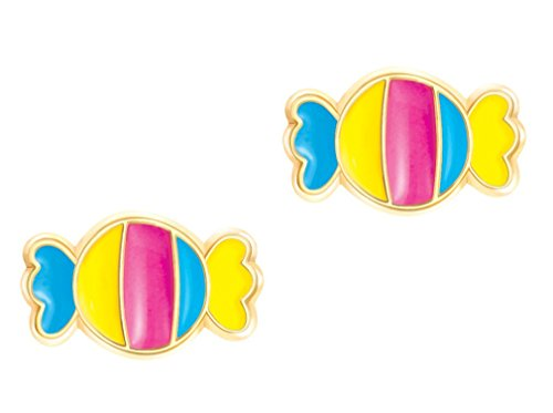 Girl Nation Cuties Collection Enamel Candy Shop Post Earring