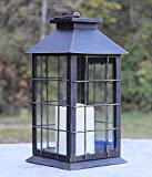 Seraphic Country Style Rustic Metal Lanterns with