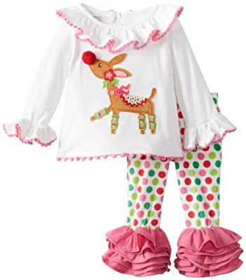 Reindeer Tunic and Legging Set by Mud Pie